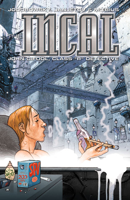The Incal Classic Collection - Trade Paperback #2 : John Difool, Class &quot;R&quot; Detective