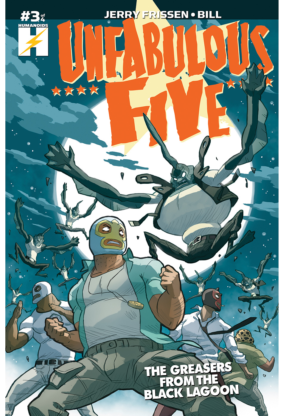 Unfabulous Five - Digital Comic #3 : Unfabulous Five: The Greasers From The Black Lagoon 3 of 4