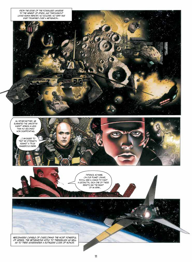Pictures 1 : Weapons of the Metabaron - Deluxe Hardcover