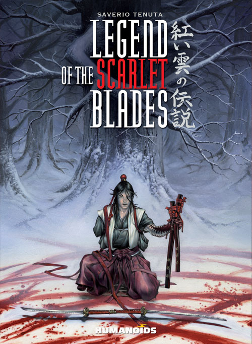 Legend of the Scarlet Blades - Deluxe Hardcover