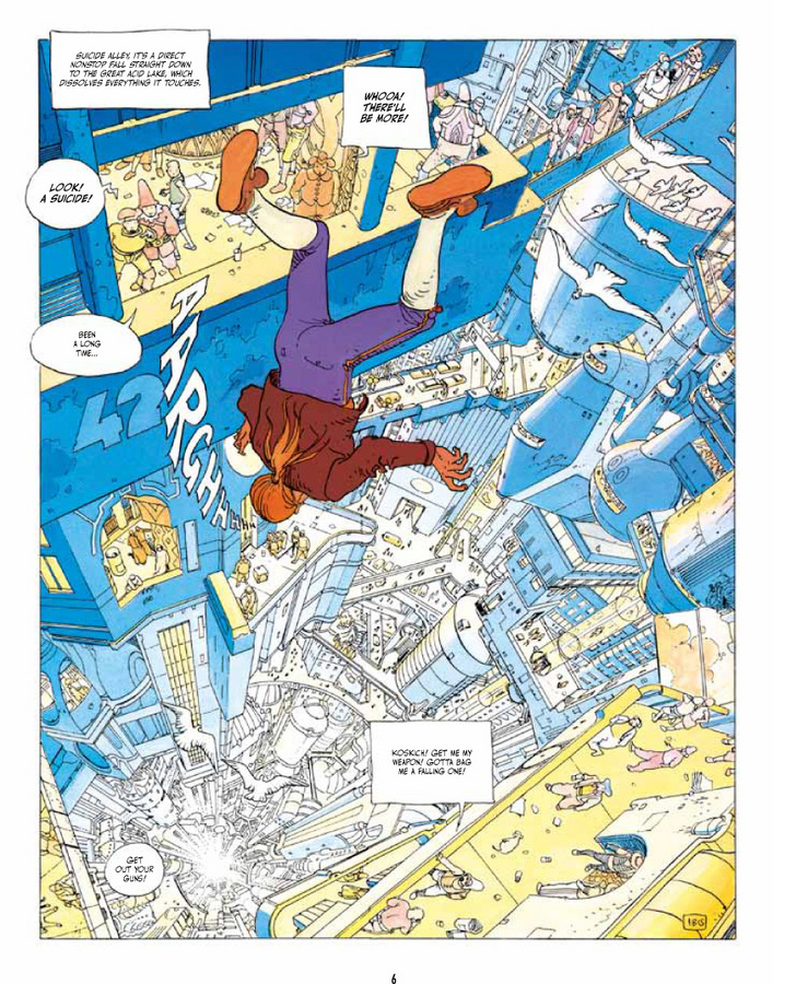 Extrait 1 : The Incal Classic Collection - Hardcover Trade