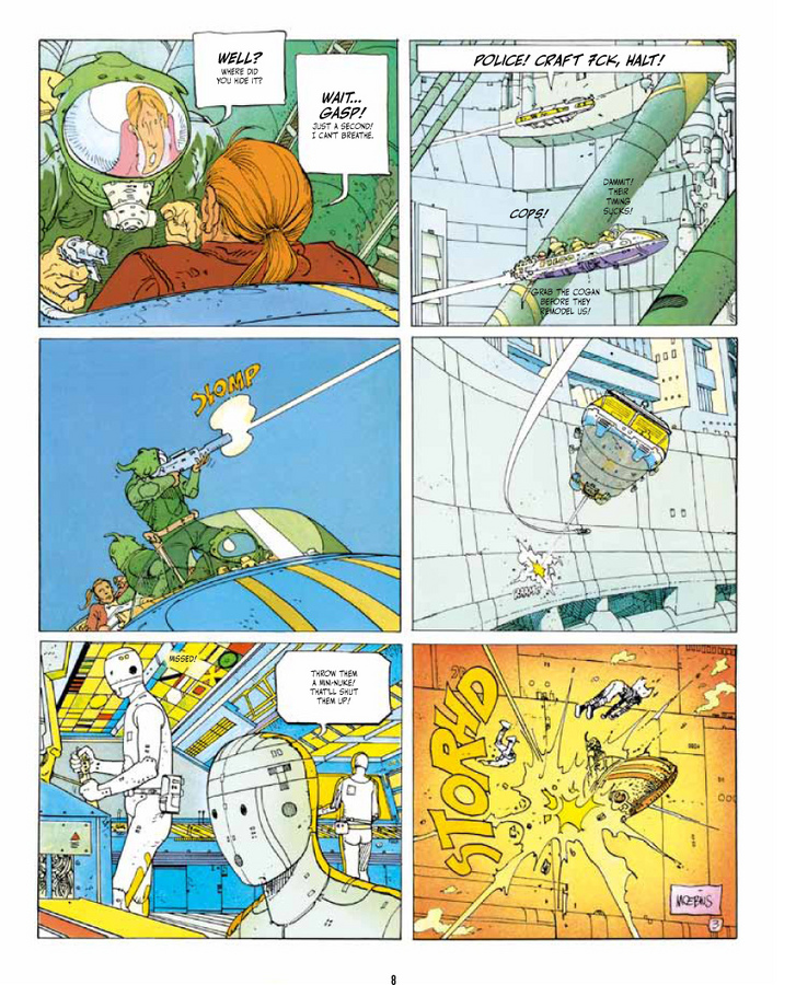 Excerpt 3 : The Incal Classic Collection - Hardcover Trade