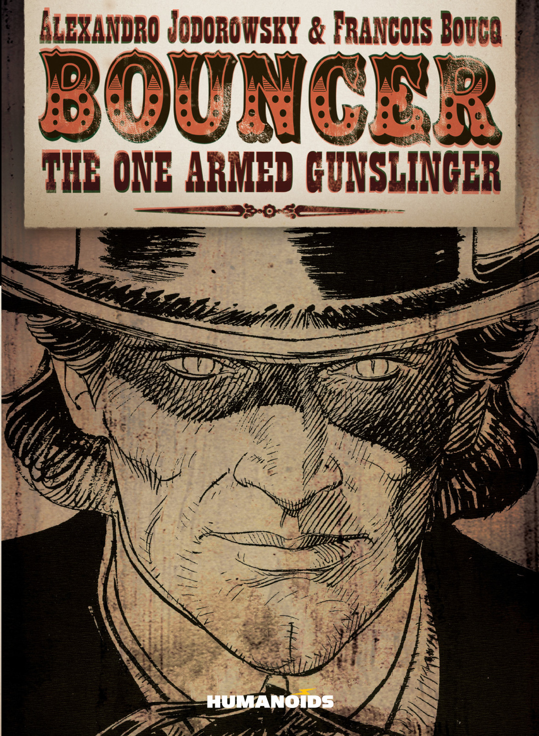 Bouncer - Hardcover Trade : The One Armed Gunslinger
