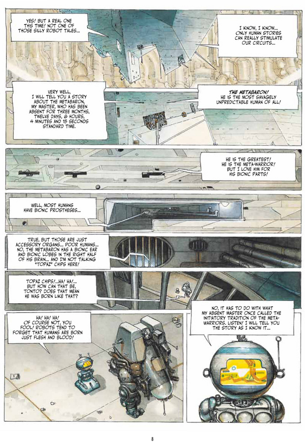 Excerpt 2 : The Metabarons - Oversized Deluxe Edition : Ultimate Collection