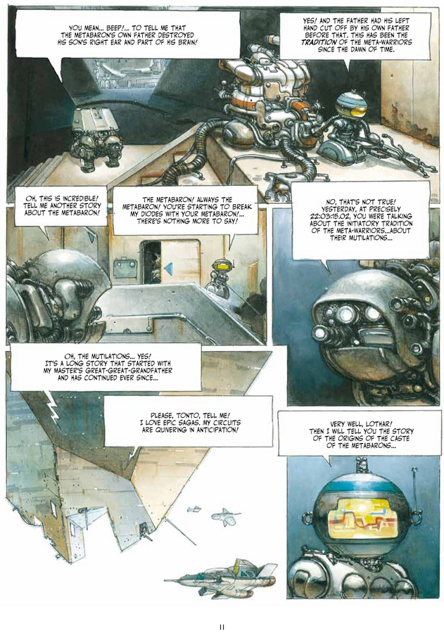 Excerpt 5 : The Metabarons : Ultimate Collection - Oversized Deluxe