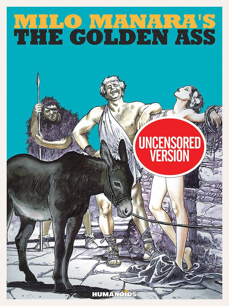 Milo Manara's The Golden Ass - Oversized Deluxe Edition