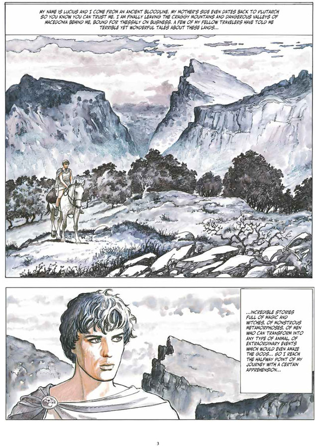 Excerpt 0 : Milo Manara's The Golden Ass - Oversized Deluxe
