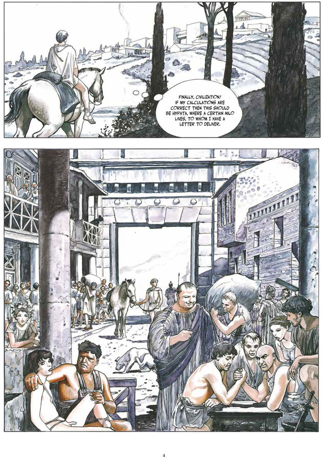 Excerpt 1 : Milo Manara's The Golden Ass - Oversized Deluxe Edition