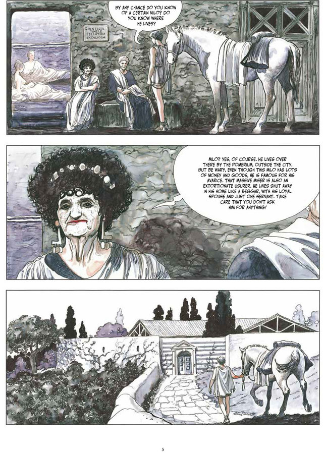 Excerpt 2 : Milo Manara's The Golden Ass - Oversized Deluxe Edition