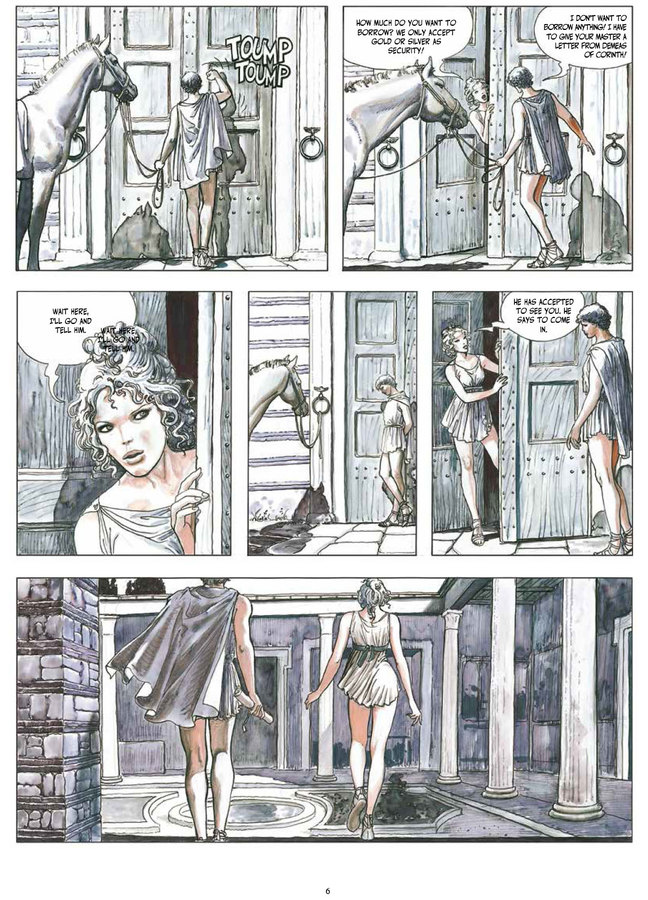 Excerpt 3 : Milo Manara's The Golden Ass - Oversized Deluxe Edition