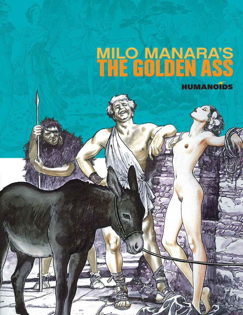 Milo Manara's The Golden Ass - Slightly Oversized Edition