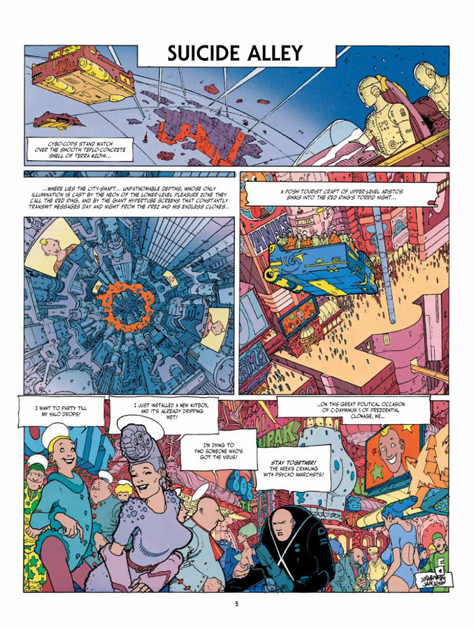 Excerpt 0 : Before The Incal - Oversized Deluxe Edition