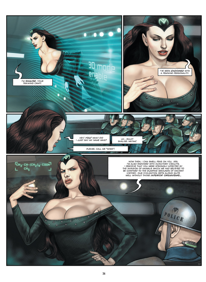Excerpt 2 : Megalex - Hardcover Trade : The Complete Story