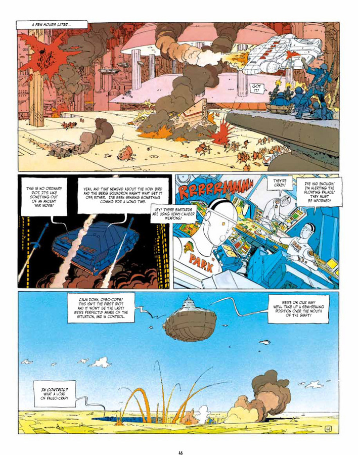Excerpt 3 : The Incal  - Hardcover Trade : 2nd printing