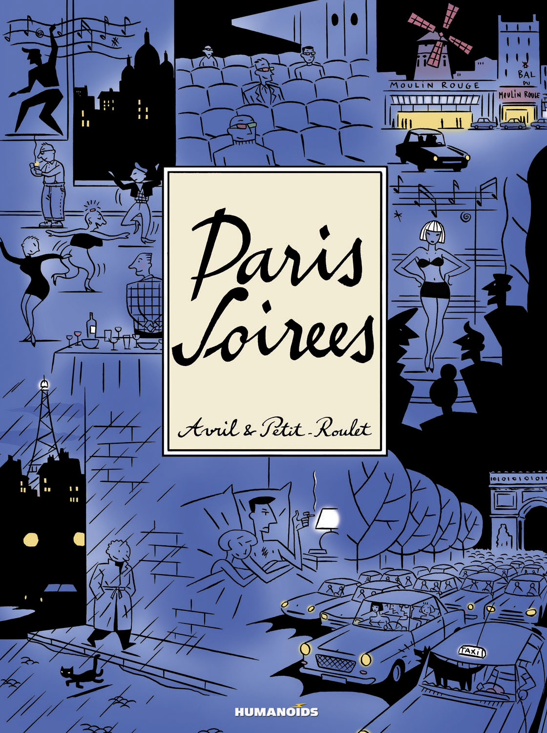 Paris Soirees - Limited Edition Super-oversized Deluxe Hardcover