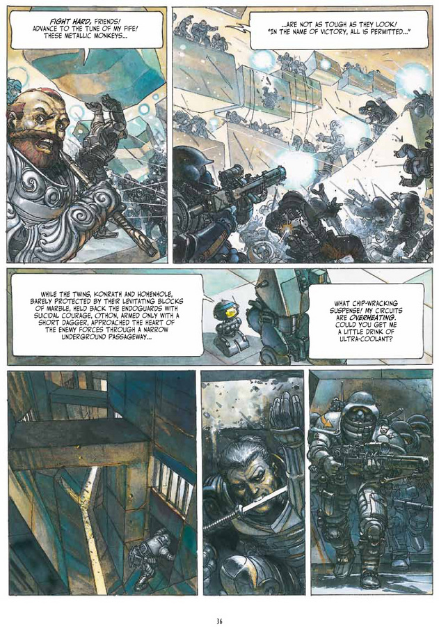 Excerpt 1 : The Metabarons : Ultimate Collection - Hardcover Trade
