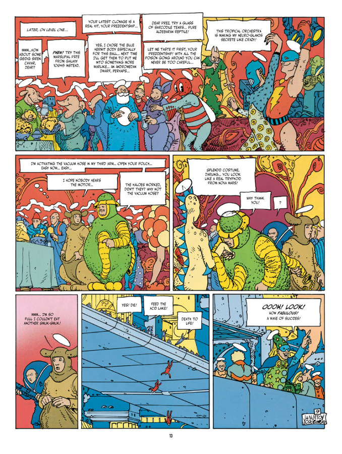 Extrait 1 : Before The Incal - Hardcover Trade : Classic Collection