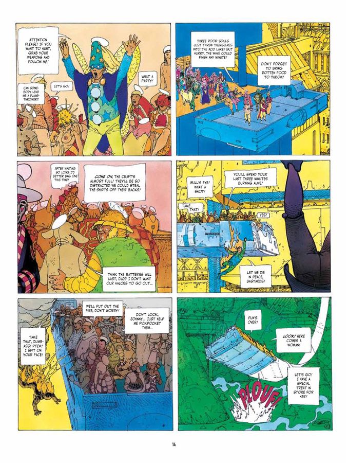 Excerpt 2 : Before The Incal - Hardcover Trade : Classic Collection