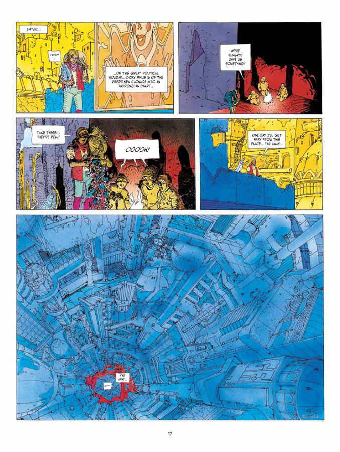 Excerpt 3 : Before The Incal - Hardcover Trade : Classic Collection