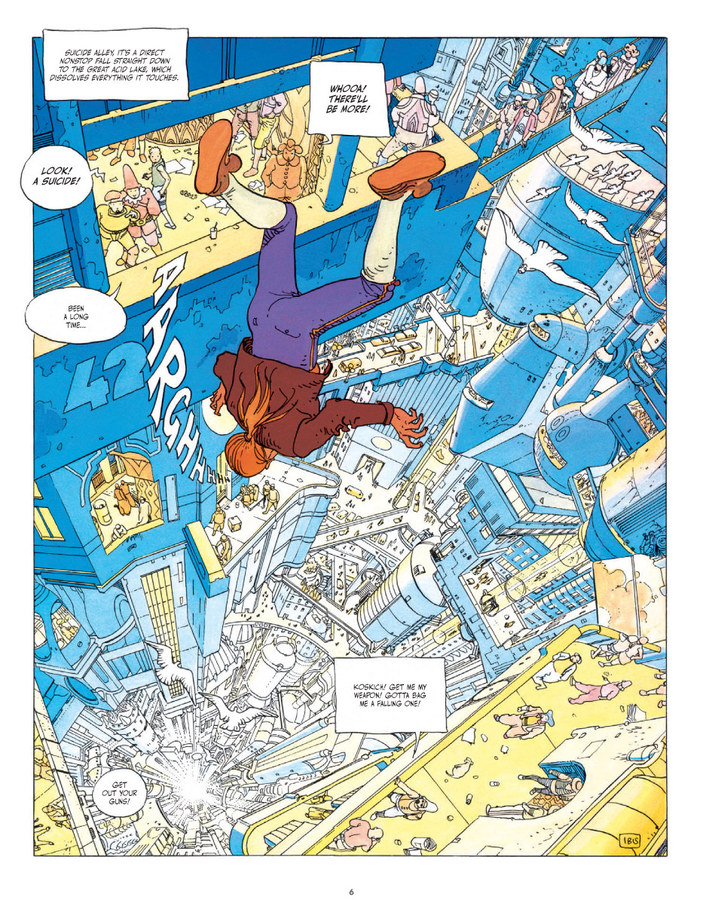 Extrait 1 : The Incal Classic Collection - Coffee Table Book V1 : The Black Incal
