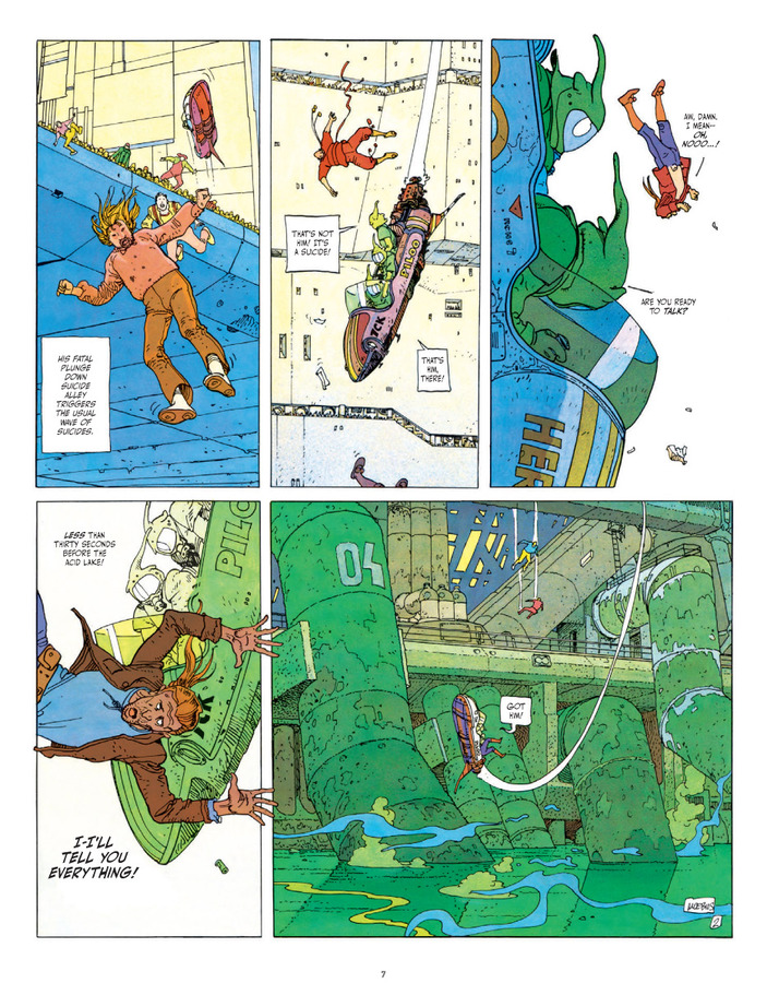 Excerpt 2 : The Incal Classic Collection - Coffee Table Book #1 : The Black Incal