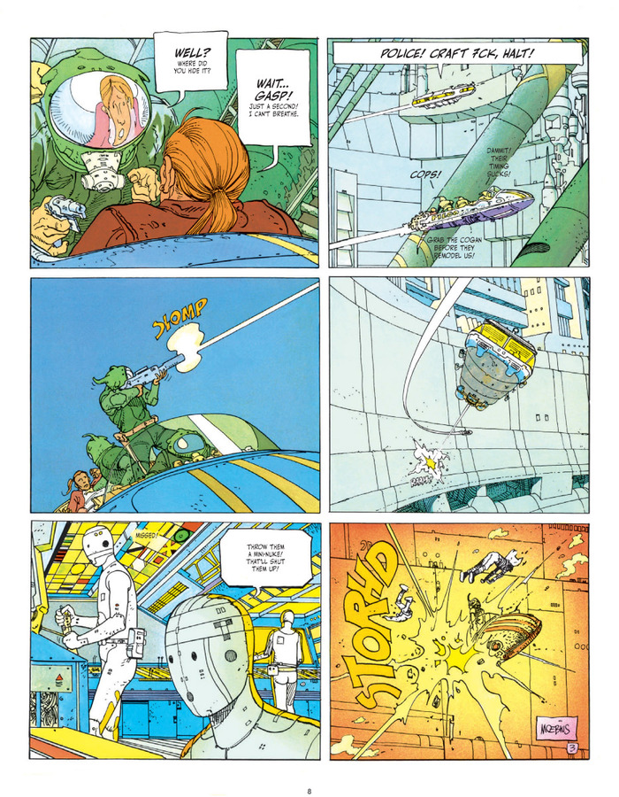 Pictures 4 : The Incal Classic Collection - Limited Edition Super-oversized Deluxe Hardcover #1 : The Black Incal