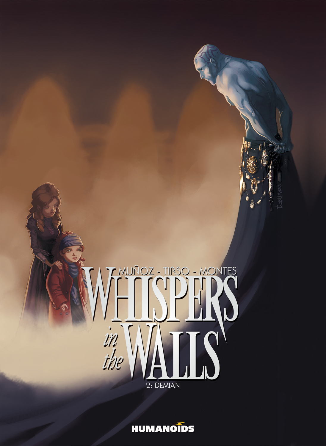 Whispers In The Walls #2 : Demian - Digital Comic