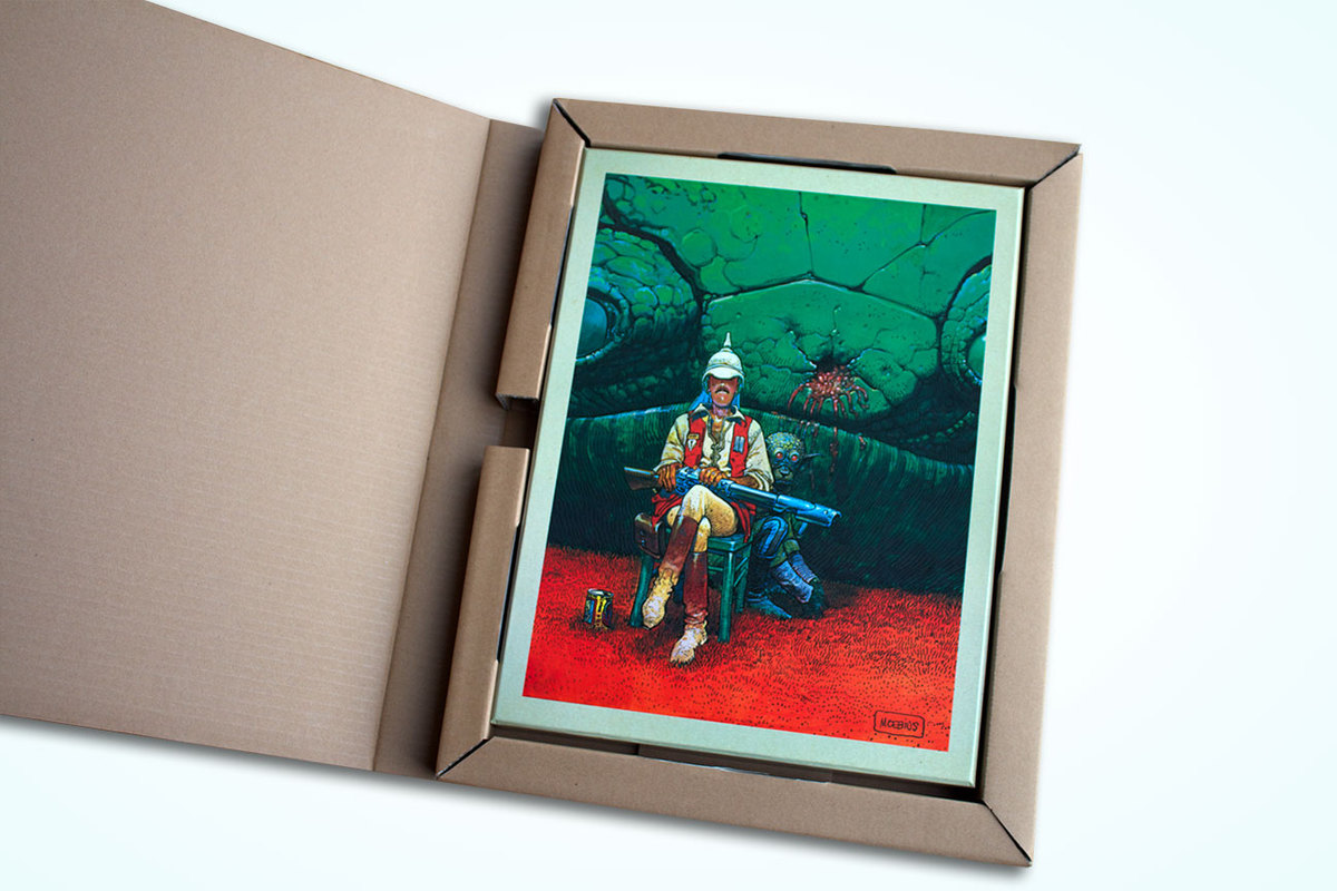 Excerpt 1 : Moebius Oeuvres : Le Garage hermétique - Coffee Table Book (Limited)