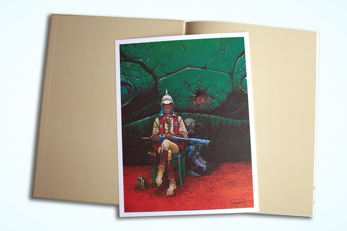 Excerpt 4 : Moebius Oeuvres : Le Garage hermétique - Coffee Table Book (Limited)