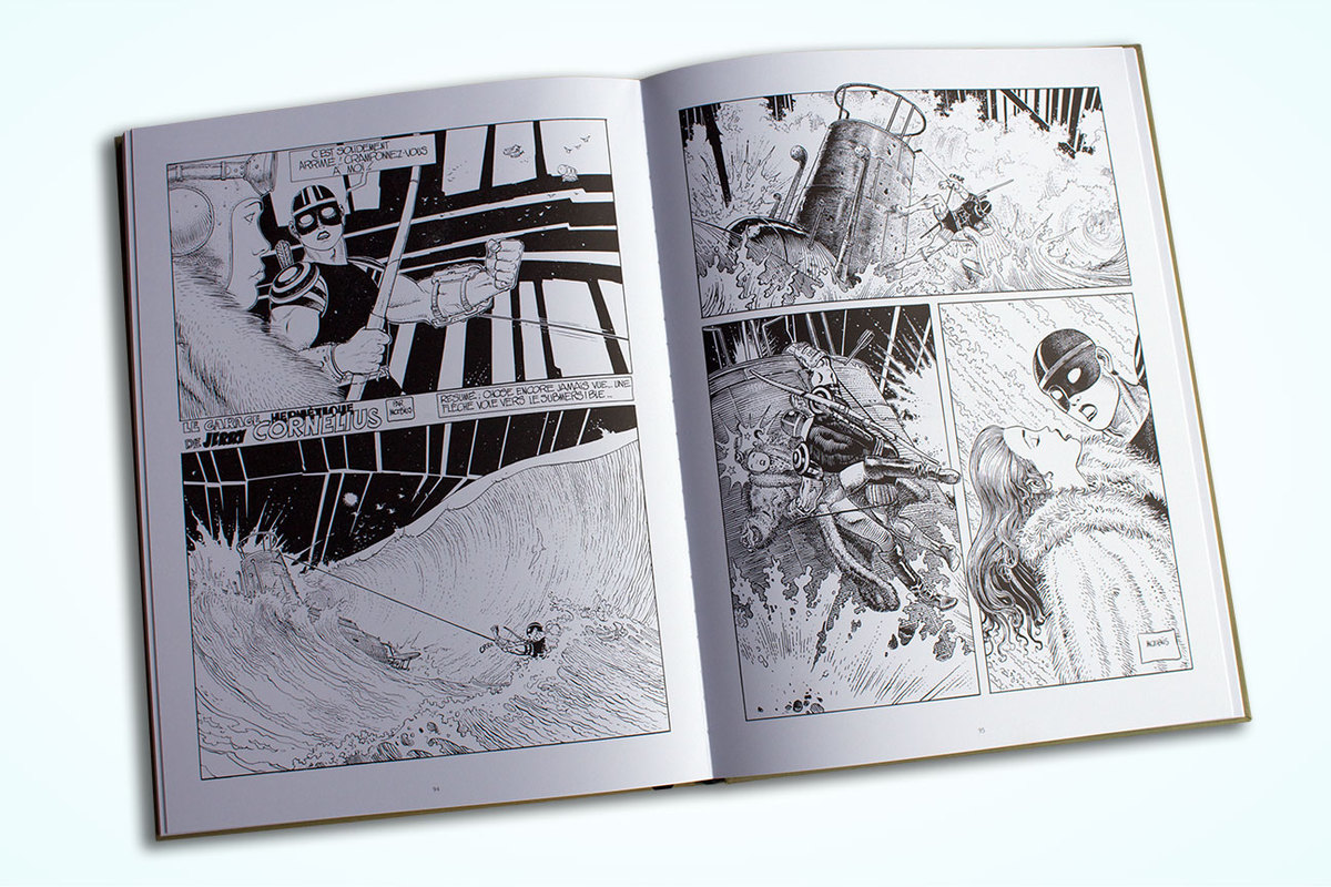 Excerpt 5 : Moebius Oeuvres : Le Garage hermétique - Coffee Table Book (Limited)