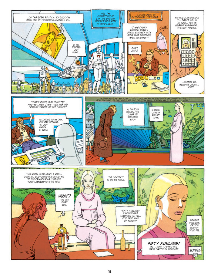 Excerpt 0 : The Incal : 3rd printing - Hardcover Trade