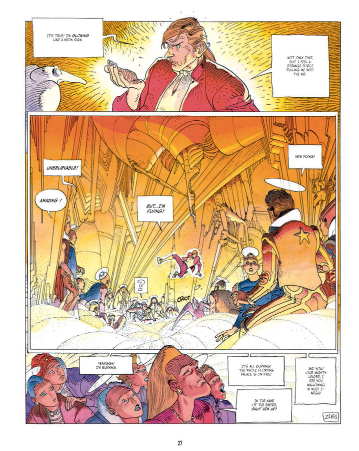 Excerpt 1 : The Incal  - Hardcover Trade : 3rd printing