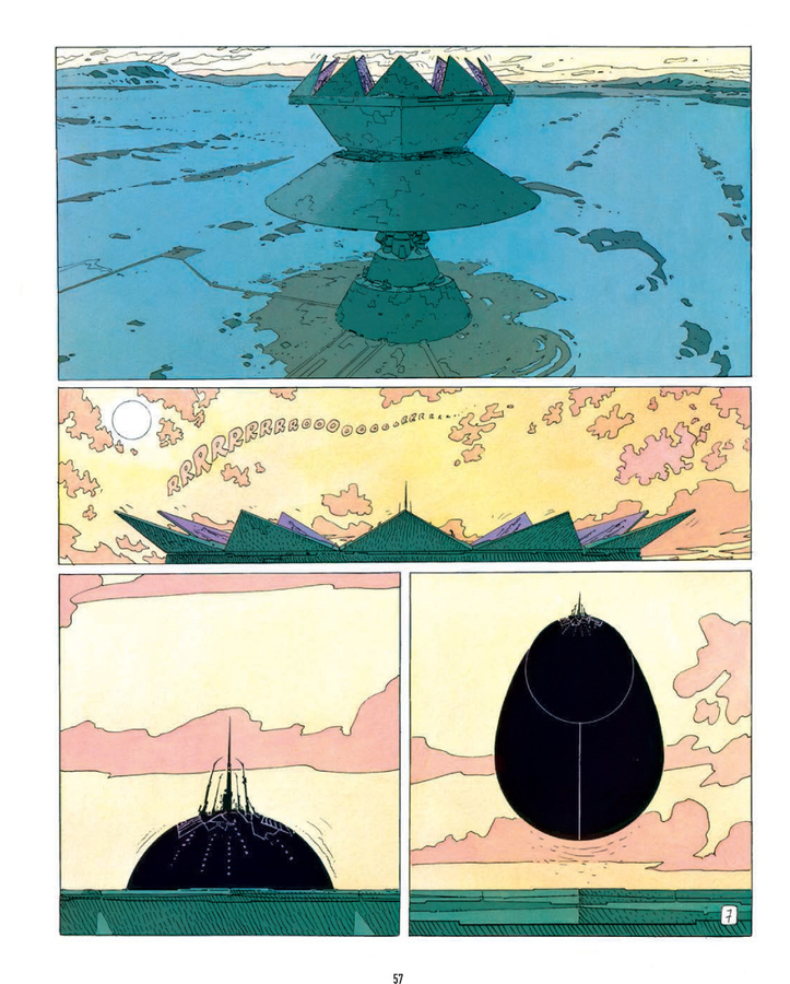 Excerpt 3 : The Incal : 3rd printing - Hardcover Trade