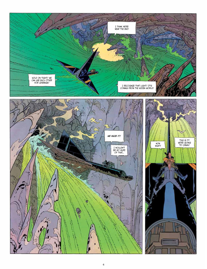 Excerpt 1 : The Incal Classic Collection - Coffee Table Book #3 : What Lies Beneath