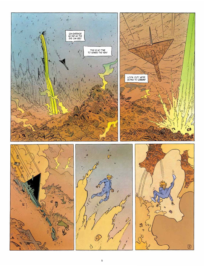 Excerpt 2 : The Incal Classic Collection - Coffee Table Book #3 : What Lies Beneath