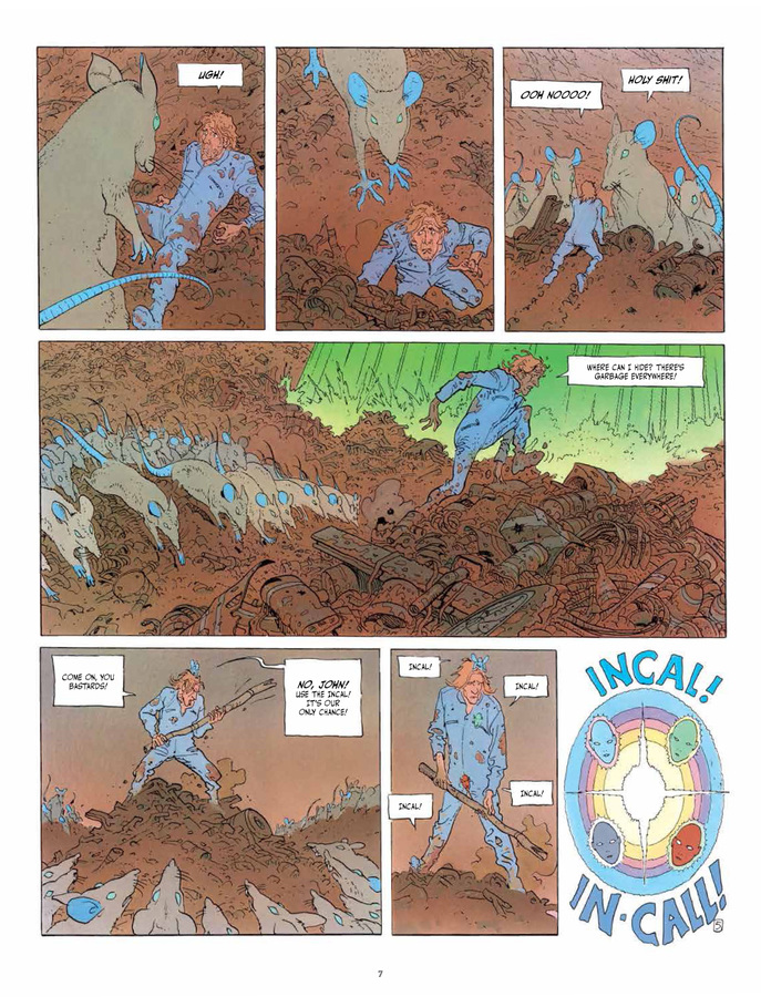 Excerpt 3 : The Incal Classic Collection - Coffee Table Book #3 : What Lies Beneath