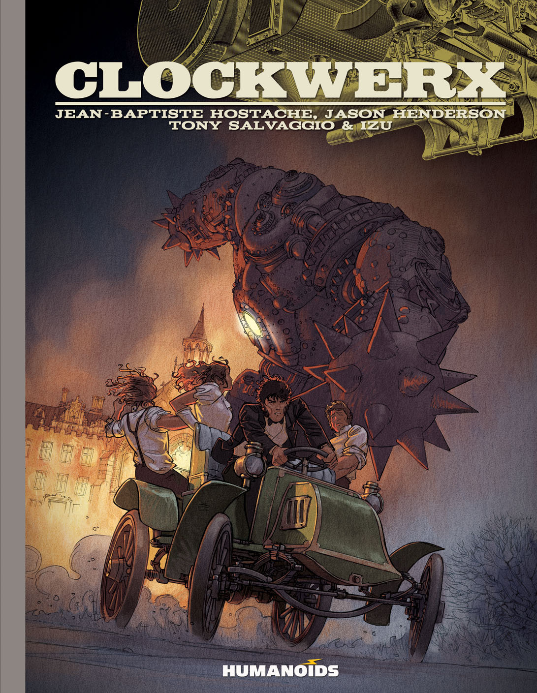 Clockwerx - Slightly Oversized Edition