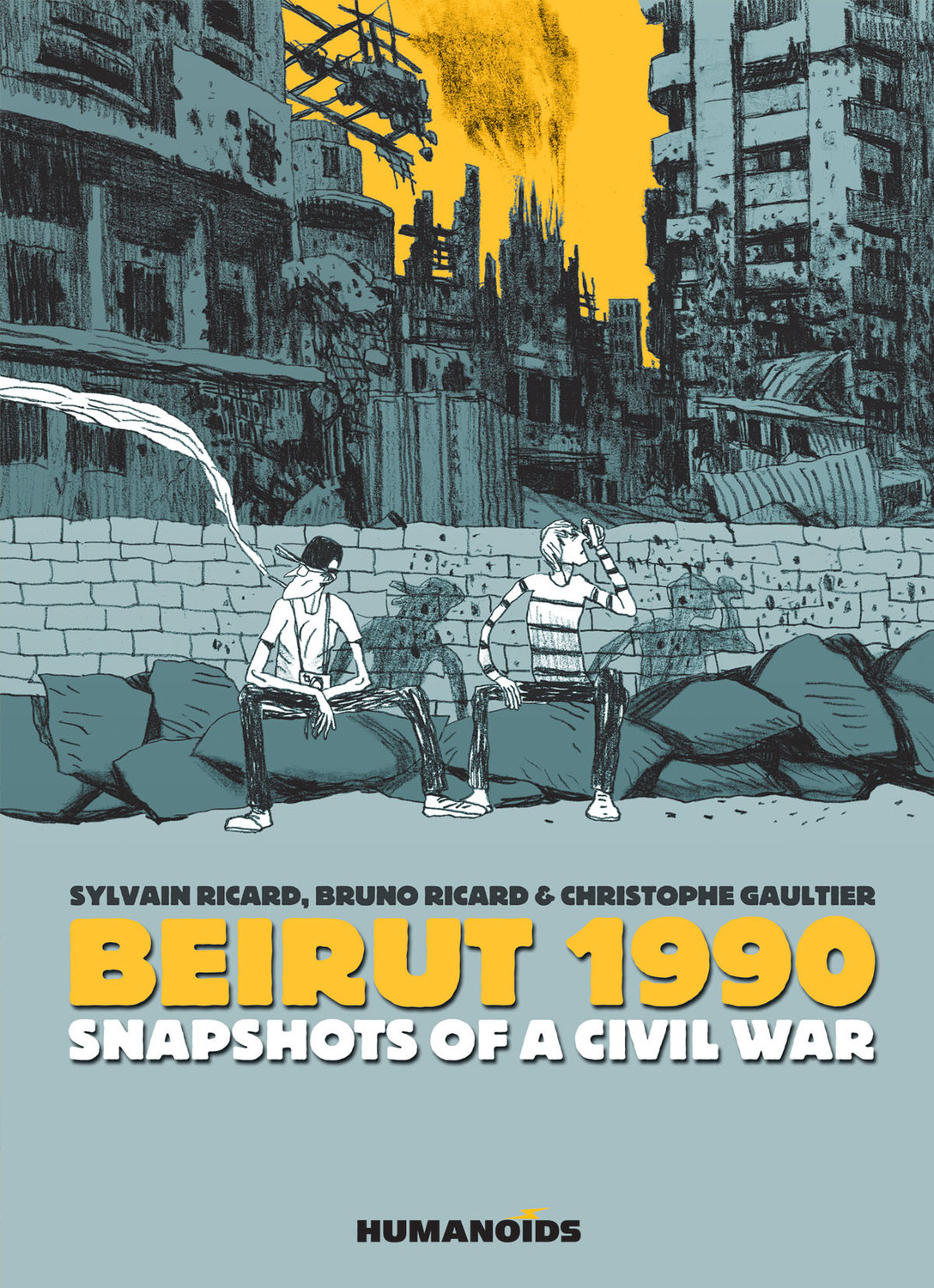 Beirut 1990 - Snapshots of a Civil War - Hardcover Trade