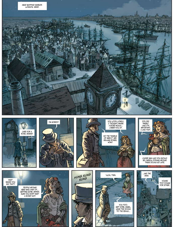 Excerpt 0 : Clockwerx #1 : Forge - Digital Comic