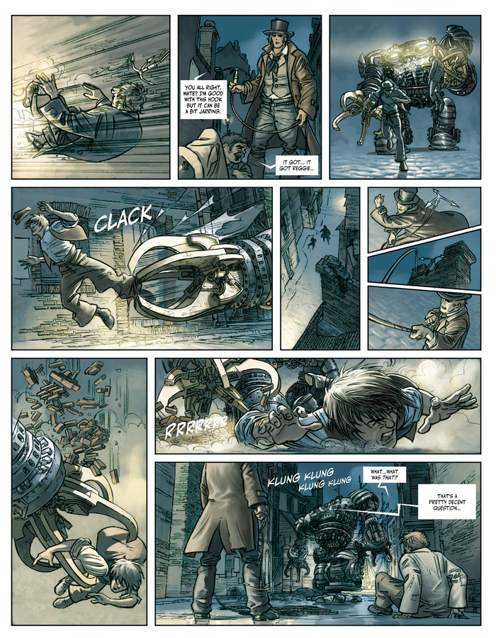 Excerpt 2 : Clockwerx #1 : Forge - Digital Comic