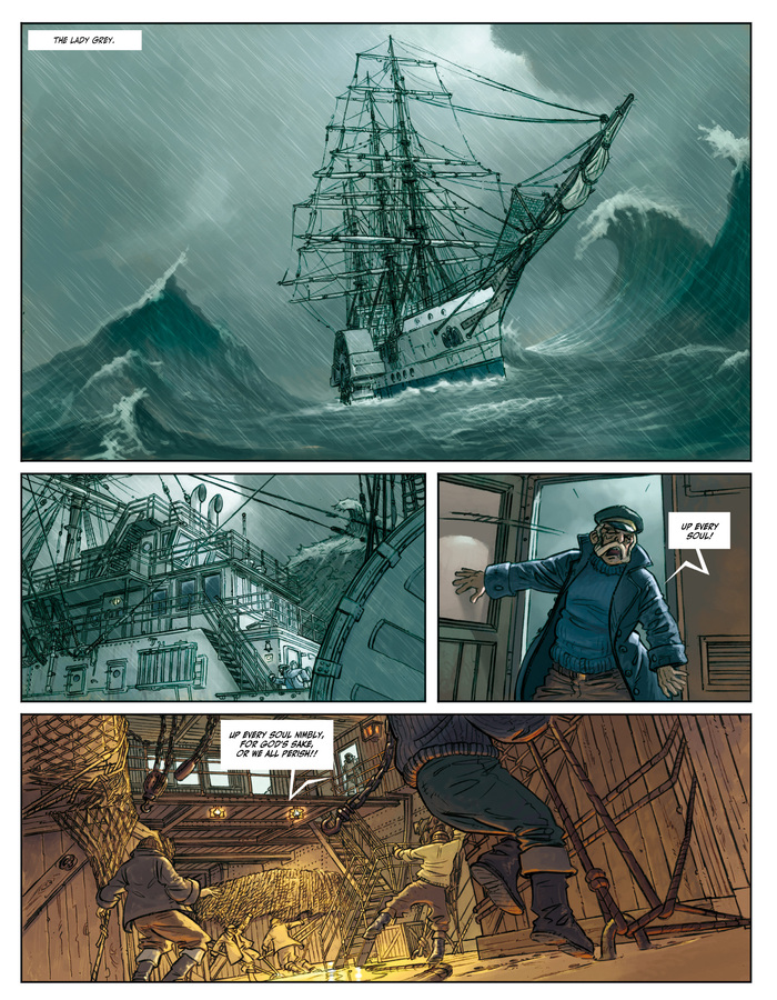 Excerpt 3 : Clockwerx #1 : Forge - Digital Comic