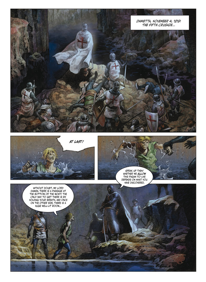 Excerpt 0 : Crusades #1 : The Silver-Eyed Specter - Digital Comic