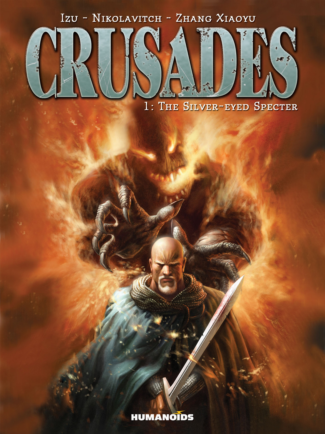 Crusades #1 : The Silver-Eyed Specter - Digital Comic
