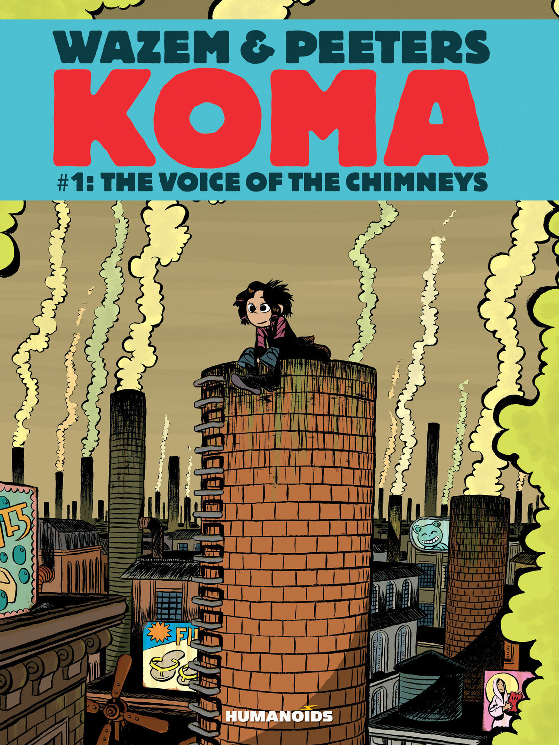 Koma #1 : The Voice of Chimneys - Digital Comic