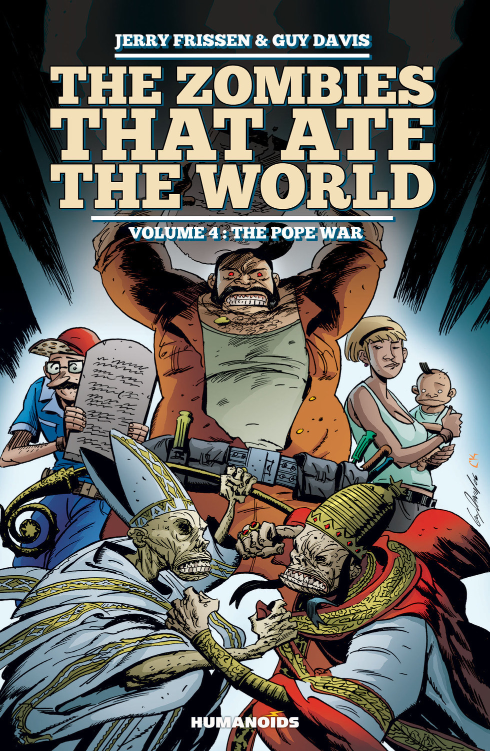 The Zombies that Ate the World #4 : The Pope War - Digital Comic