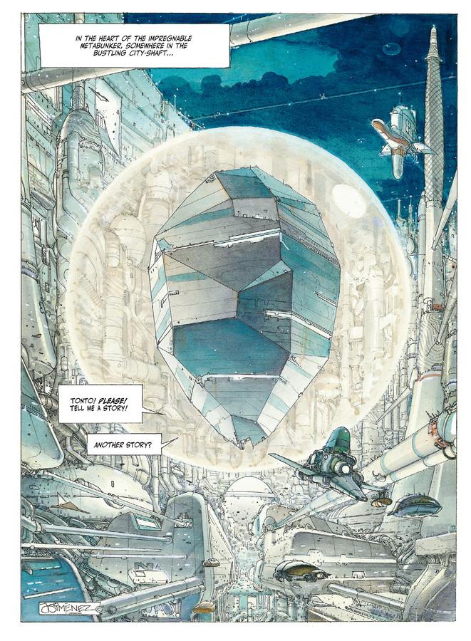 Excerpt 0 : The Metabarons #1 : Othon - Digital Comic