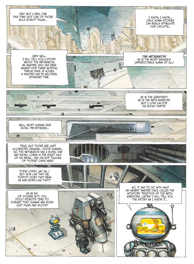 Excerpt 1 : The Metabarons #1 : Othon - Digital Comic