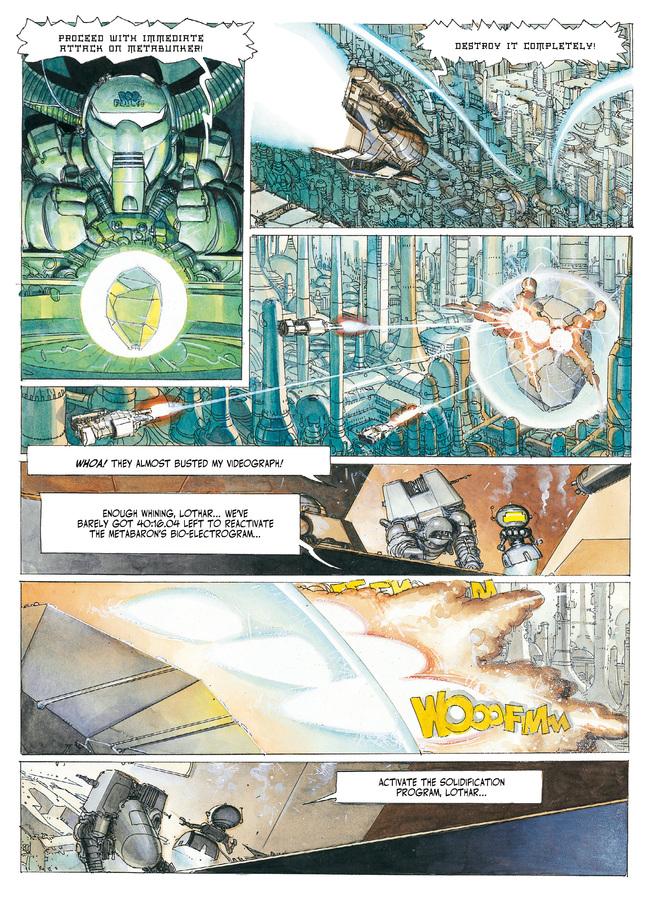 Excerpt 3 : The Metabarons #2 : Honorata - Digital Comic