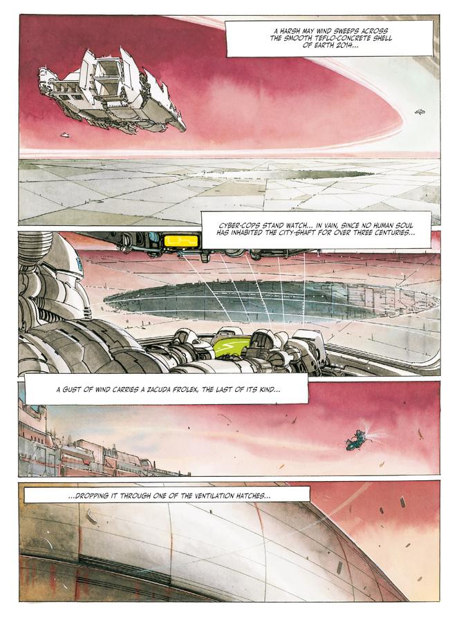 Excerpt 0 : The Metabarons #2 : Honorata - Digital Comic