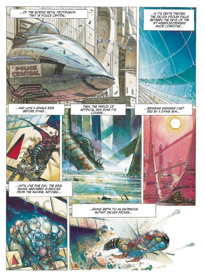 Excerpt 1 : The Metabarons #2 : Honorata - Digital Comic